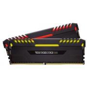 Memorie Corsair Vengeance RGB Series, DDR4, 2x16GB, 2666MHz (Negru)