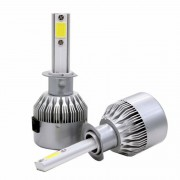 Kit 2 led-uri auto H1 C6, 48 W, 6000K, 3800 lm