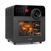 Klarstein AeroVital Cube Chef, forrólevegős fritőz, 1700W, 14l, 16 program, fekete (OV12-AeroVital Cube)