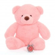 4 Feet Fat and Huge Pink Teddy Bear