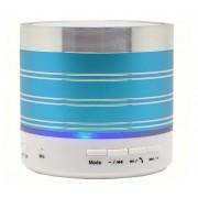 Boxa Portabila iUni DF07, Slot Card, Radio, Aluminiu, Albastru