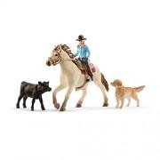 Schleich Western Riding Play Set (5 Piece)