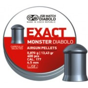 Śrut Diabolo JSB EXACT MONSTER nadkalibrowy 4,52 mm