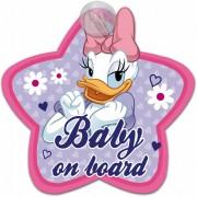 Semn de avertizare Baby on Board Daisy Disney Eurasia 25031