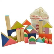 Shumee Chalk-o-Blocks - Wooden Block Toys for Kids and Toddlers