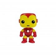 Ironman Clasico Funko Pop Iron Man Retro Vinyl Bobble Head-Multicolor