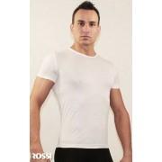 Romeo Rossi Модная футболка из полиэстра белого цвета ROMEO ROSSI R00511