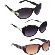 Vitoria Wayfarer, Cat-eye Sunglasses(Multicolor)
