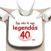 Legendás 40-es - Tréfás előke