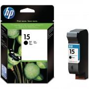 Cartridge HP No.15 C6615DE 25m black, DJ 3816/3820/3822/810c/812c/815c/840c/845c