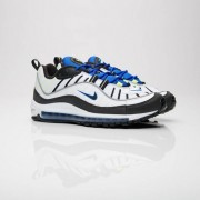 Nike Air Max 98 White/Black/Racer Blue/Volt
