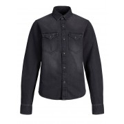 JACK & JONES - Spijkerblouse Heren Zwart