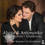 Video Delta Verdi / Alieva / Kaunas City Symphony - Alieva & Antonenko - CD