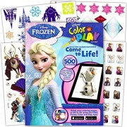 Disney Frozen Sticker Activity & Learning Book - Over 500 Stickers!
