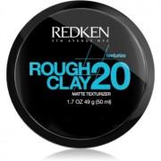 Redken Texturize Rough Clay 20 pasta matificante para fixação flexível 50 ml