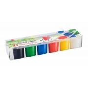 Tempera készlet, tégelyes, ICO Süni, 6 különböző szín (TICSUTEM6)