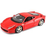 Bburago 1:24 Ferrari Race and Play 458 Italia, Multi Color