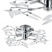 [lux.pro]® Stropní svítidlo - Kira - chromovo-stříbrné (4 x E14)