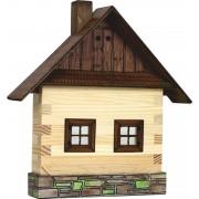 WALACHIA fa építőjáték modell - faház front