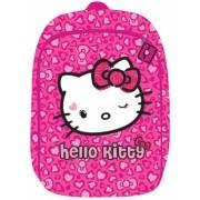 Ghiozdan 2 compartimente clasele 1-4 Hello Kitty roz Pigna