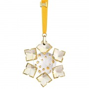 Figurina cristal Preciosa - Christmas Ornament (Yellow)