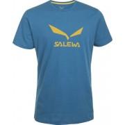 Salewa Solidlogo - T-Shirt arrampicata - uomo - Light Blue