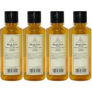 Khadi Pure Herbal Honey Lemon Juice Shampoo - 210ml (Set of 4)