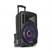"""Fenton FT12LED, активен високоговорител, 12"""" woofer, 700 W, BT/USB/SD/AUX вход, LED (170.092)"""