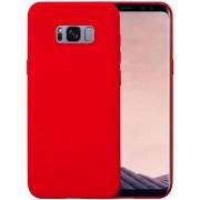 Protectie spate Senno Pure Flex Slim Mate TPU pentru Samsung Galaxy S8 Plus (Rosu)