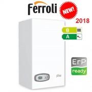Caldaia A Condensazione Ferroli Divacondens D F24 Metano 24kw Nuovo Modello 2018 + Kit Fumi Omaggio