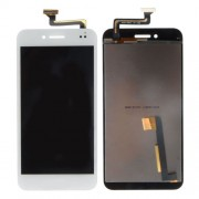 iPartsBuy for Asus PadFone S PF500KL / PF-500KL / PF500 / T00N LCD Screen + Touch Screen Digitizer Assembly Replacement(White)