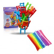 Johouse Stacking Balance Game, Chairs Stacking Tower Balancing Game, Interesting Stack Board Games, Family B