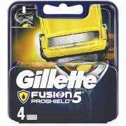 Gillette Fusion5 ProShield Razor Blades for Men - 4 Count