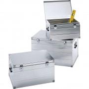 ZARGES Alu-Transportbox 3er-Set je 1 Kiste Inhalt 42 l, 66 l, 123 l