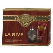 La Rive Cabana - zestaw, woda toaletowa, żel pod prysznic