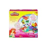 Conjunto Play-Doh Diversão Princesas - Ariel Jewels and Gems - Hasbro