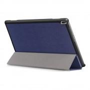 Shop4 - Lenovo Tab 4 10 Plus Hoes - Smart Book Case Blauw