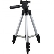 Royallite Professional Tripod - 3110 Portable Foldable Camera - Mobile Tripod With Mobile Clip Holder Bracket Fully