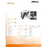 ASRock Z270 Pro4 s1151 Z270 4D DR4 USB3.0/3xM.2 ATX - DARMOWA DOSTAWA!!!