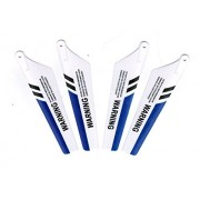 Syma 4pcs/set S107G RC Helicopter Toys Accessories S107c Main Blade Prolellers