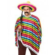 Disfraz mexicano multicolor adulto Única
