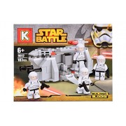 Planet of Toys Lego Star Battle Building Blocks - 187 Pieces For Kids, Children