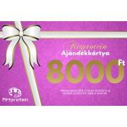 Fittprotein Online Ajándékkártya Nőknek 8000Ft értékben