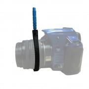 Follow Focus Gear Ring Verstelbare Dimeter 49mm naar 82mm ABS Riem Aluminium Handvat Lens Rig voor DSLR Camcorder Video