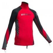 Uv tröja långärmad rashguard junior - Gul (Storlek: 9/10 år)