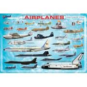 Пъзел Eurographics от 100 части – Самолети