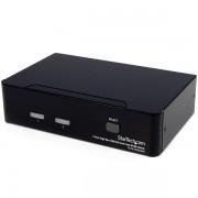StarTech 2-poort Hoge-Resolutie USB DVI Dual-Link KVM-switch met Audio