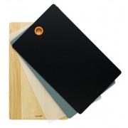 Nyírfa vágódeszka 3 db cserélhető műanyag vágólappal 102654