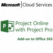 MICROSOFT Project Online with Project Pro, Business, VL Subs., Windows, All Languages, 1 license, 1 month S3Z-00001