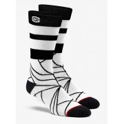 100% Fracture Athletic Socks Stone - L/XL